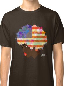 American Flower 'Fro  Classic T-Shirt