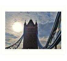 Tower Bridge in London, England Art Print