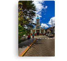 Central San Fernando - Ecuador - Painting Canvas Print