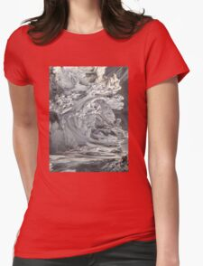 ABSTRACT 3 Womens Fitted T-Shirt