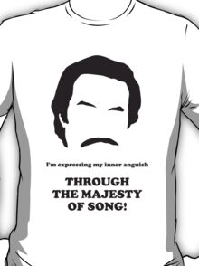 Ron Burgundy - Majesty of Song T-Shirt