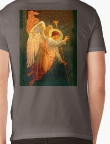 Angel, Halo, Giving Benediction, Church, St Petersburg, Russia Mens V-Neck T-Shirt