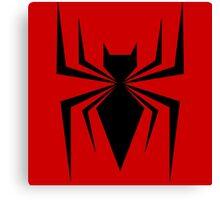 Battle Ready Spider Canvas Print