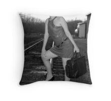 Escape Artist Throw Pillow