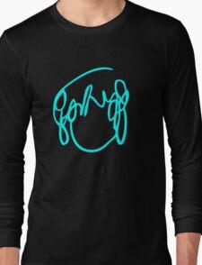 Ramona Flowers Cyan - Scott Pilgrim vs The World Long Sleeve T-Shirt
