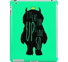 Where the wild things are iPad Case/Skin