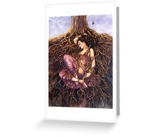 Tangled / Dreaming Dryad Greeting Card