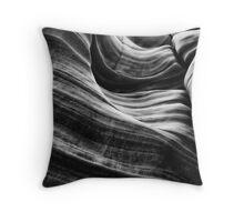 Sandstone BW Art Throw Pillow