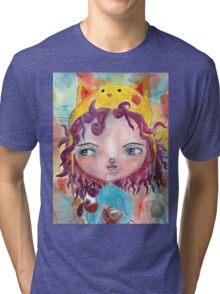 Inner Child - Lollipop Girl Tri-blend T-Shirt