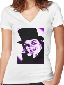 Dr JEKYLL Women's Fitted V-Neck T-Shirt