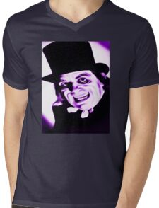 Dr JEKYLL Mens V-Neck T-Shirt