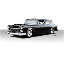 1955 Chevrolet Nomad Wagon 'Studio' Photographic Print