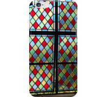 Stained Glass, Window, Caribean, Church iPhone Case/Skin