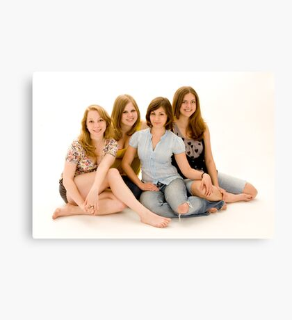 ROOMMATES Canvas Print