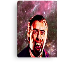 SPACE VAMPIRE Canvas Print