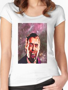 SPACE VAMPIRE Women's Fitted Scoop T-Shirt