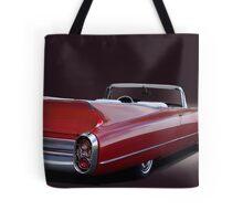 1960 Cadillac Convertible Tote Bag