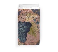 Wines of France Grenache Duvet Cover