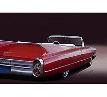 1960 Cadillac Convertible Photographic Print