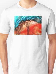 Zebra Love - Art By Sharon Cummings Unisex T-Shirt