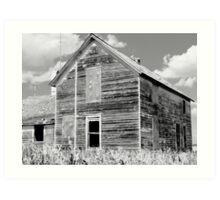 The Stark Farmhouse Art Print