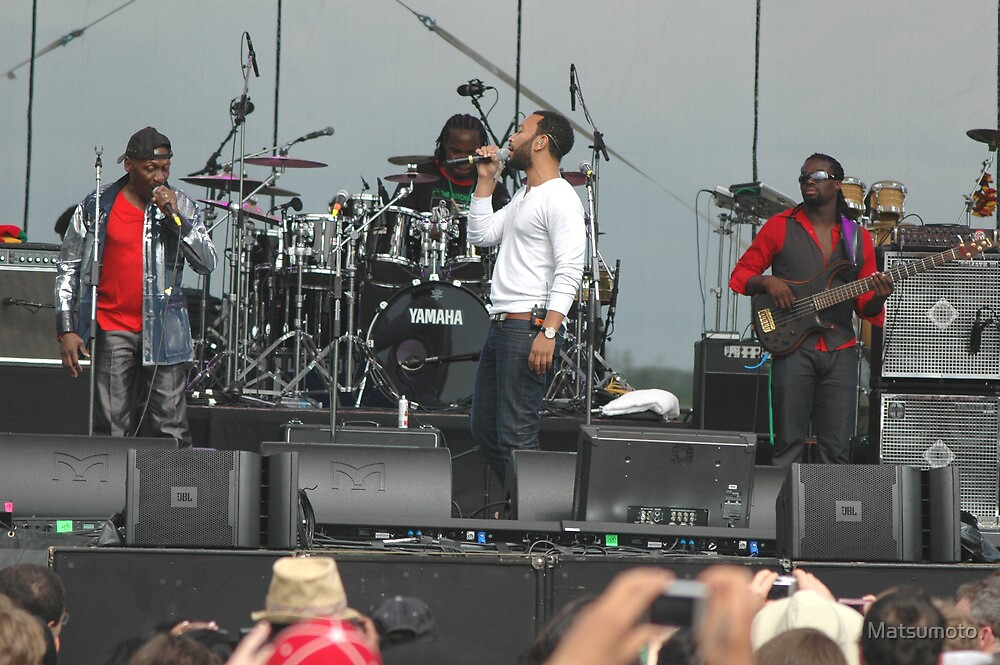 Jimmy Cliff and John Legend by Matsumoto