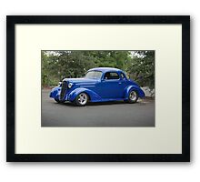 1936 Chevrolet DeLuxe Coupe Framed Print