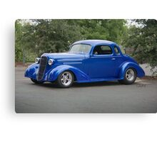 1936 Chevrolet DeLuxe Coupe Canvas Print