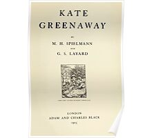 Kate Greenaway Collection 1905 0011 Title Plate Poster