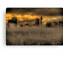 Australian Gothic - Sydney Australia - The HDR Experience Canvas Print