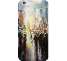 Silhouettes passing by iPhone Case/Skin