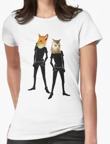 Anthropomorphism Womens Fitted T-Shirt