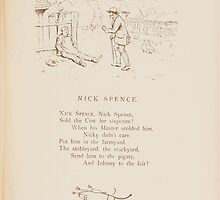 Rhymes for the Young Folk William and Hellen Allingham art Kate Greenaway 0065 Nick Spence by wetdryvac