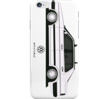 Volkswagen Jetta II Side iPhone Case/Skin