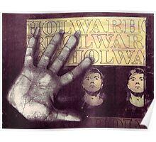 Warhol and fingernails Poster