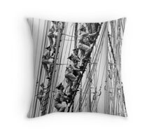 Naval Cadets, Moveee!!  Throw Pillow