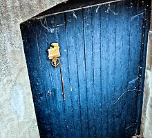 Old Blue Door by tre2photography