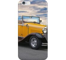 1930 Ford Model A 'Rumble Seat' Roadster iPhone Case/Skin