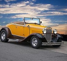 1930 Ford Model A 'Rumble Seat' Roadster by DaveKoontz