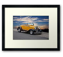 1930 Ford Model A 'Rumble Seat' Roadster Framed Print
