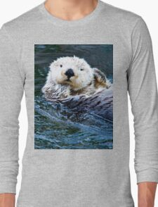 Sea Otter Long Sleeve T-Shirt