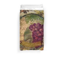 Wines of France Pinot Noir Duvet Cover