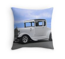 1929 Ford 'Casper' Coupe Throw Pillow