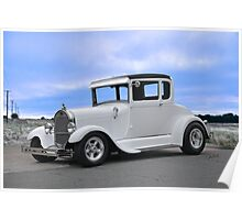 1929 Ford 'Casper' Coupe Poster