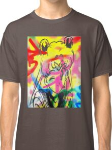 Graffiti Sailor Moon Classic T-Shirt