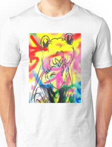 Graffiti Sailor Moon Unisex T-Shirt
