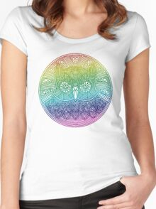 Mr. Owl Women's Fitted Scoop T-Shirt