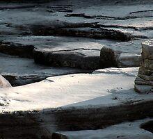 Avalanche Creek Limestone (Glacier Park) by rocamiadesign