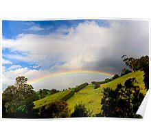 Gippsland Rainbow Poster