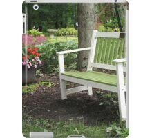 Come On In, the Garden's Fine iPad Case/Skin